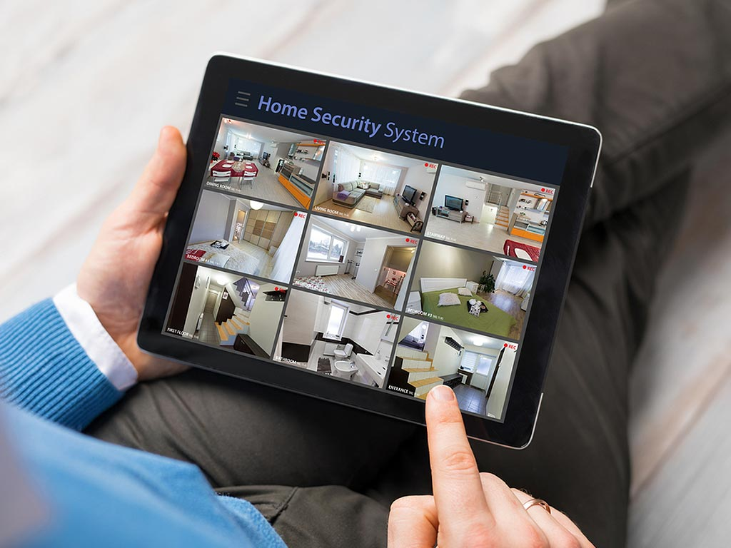 2018 Home Security Options Remote Streaming Surveillance