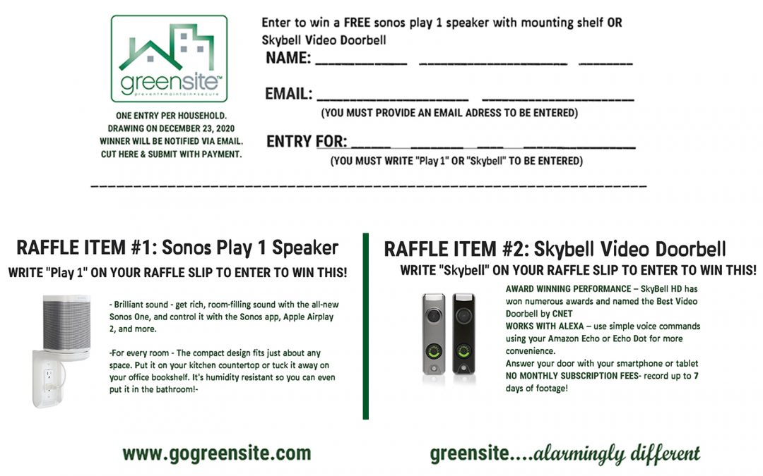 Check Out Our 2020 Holiday Raffle!