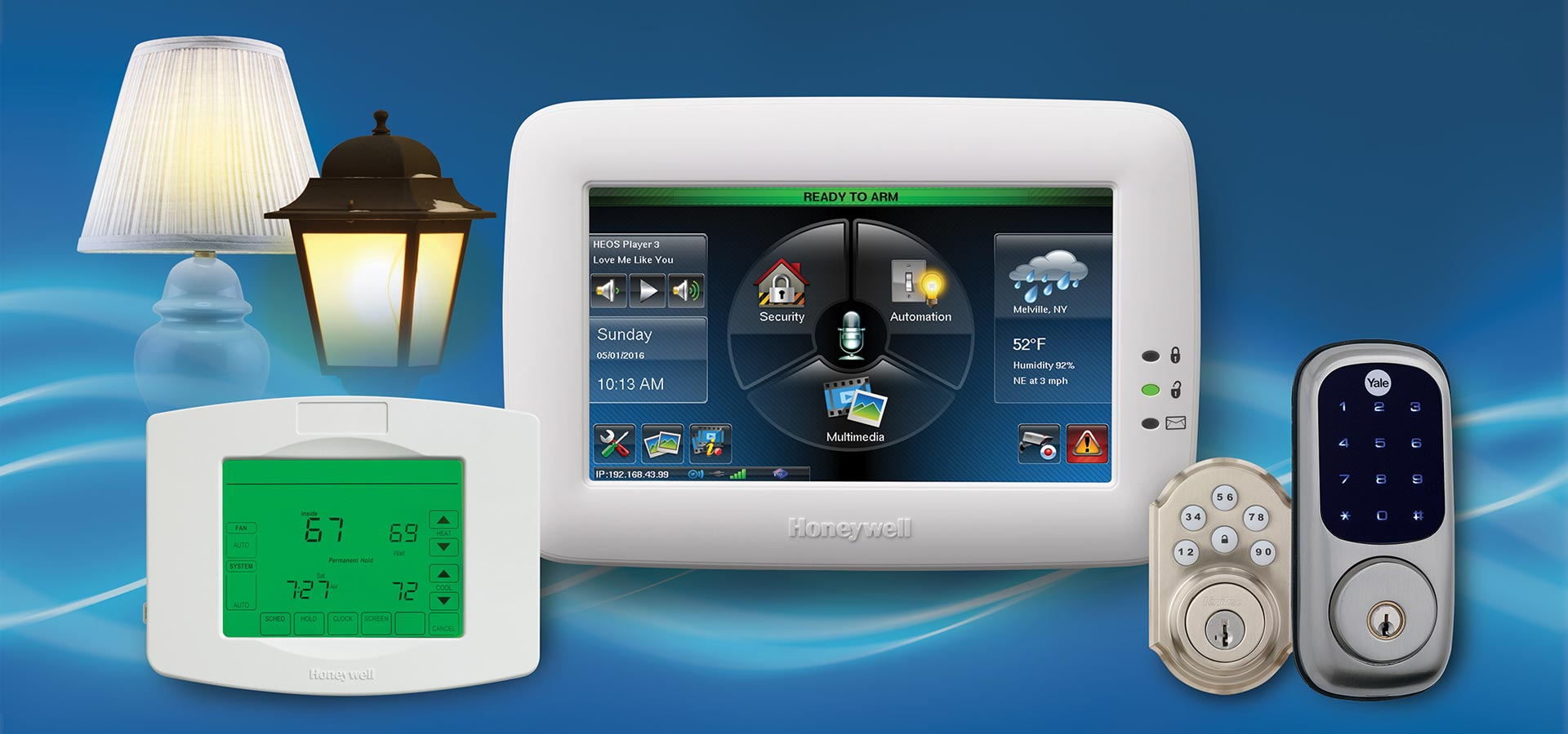 Home Automation Tuxedo Touch