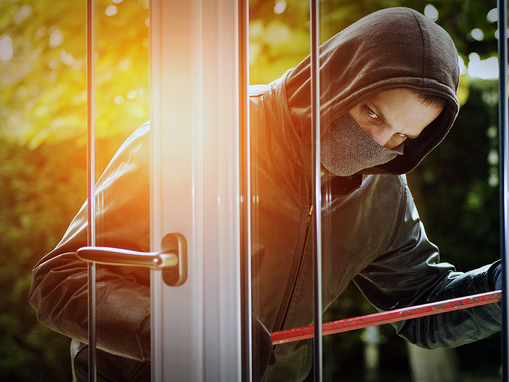 Long Island Home Security Installation Burgler
