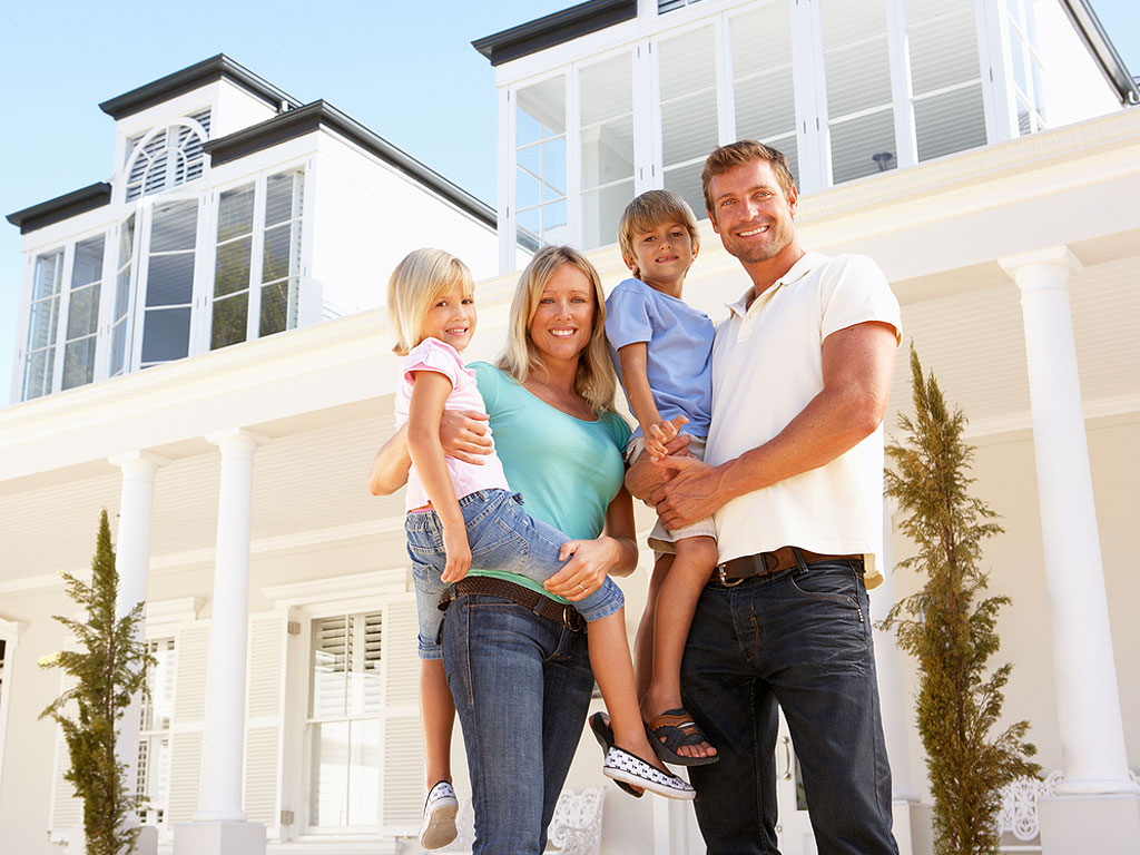 Security System Nassau County Happy Family