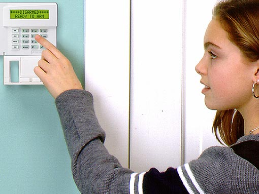 Services Keypad Alarm Installation